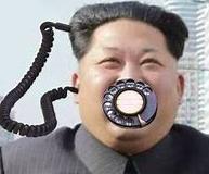 北朝鮮 黒電話 受話器