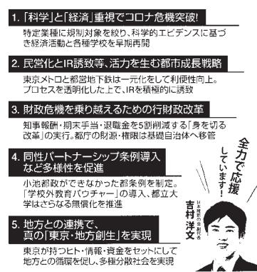 山本太郎(都知事選公約)オリンピック中止 ...